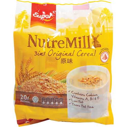 Super C NutreMill 3-1 Cereal【3bag】