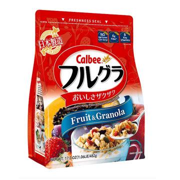 Calbee Fruit & Granola Org17oz【6bag】