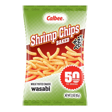 Calbee Shrimp Chips Wasabi-3.3oz【3bag】