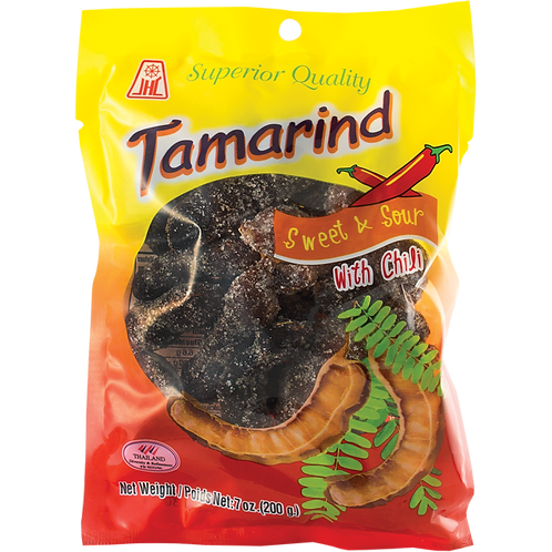 Sweet / Sour Chili Tamarind Candy-7oz【3bag】