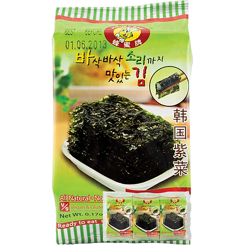 Seaweed Snack HB【3bag】