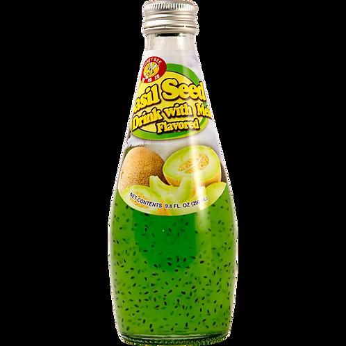 Basilseed Drink Melon-9.8oz【6 Bottle 】