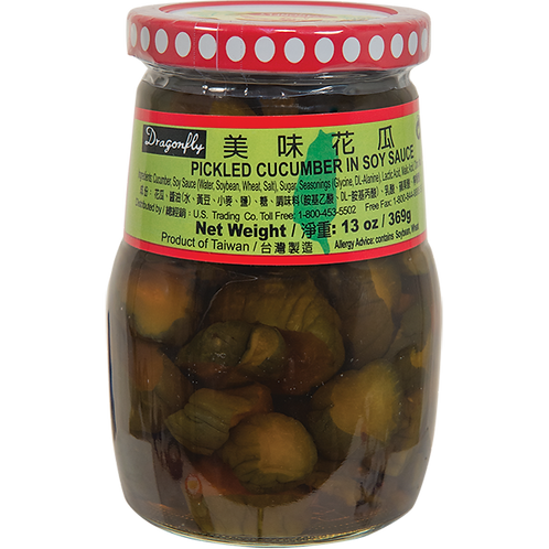 Pickled Cucumber In Soysauce  13oz