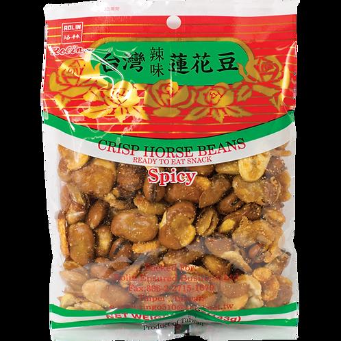 Chrispy Horse Bean Spicy-5oz【5bag】