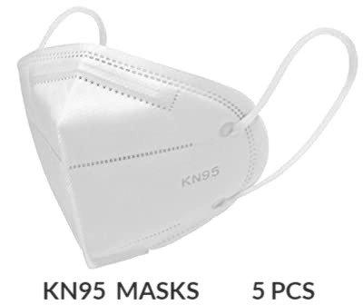 KN95 Respirator Face Mask【5Pcs】