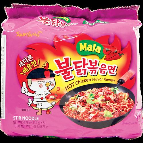 Samyang Mala Hot Chicken Flavor Ramen 5pk