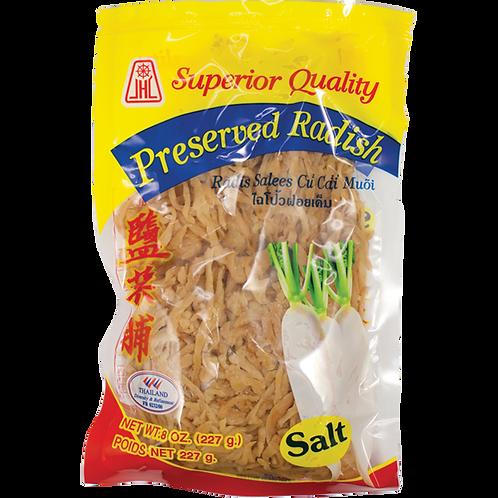 Salted Radish (Strip)-8oz【3bag】
