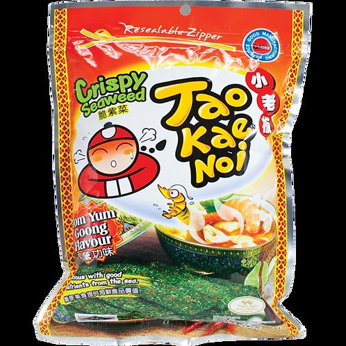 TKN Crispy Seaweed (Tomyum)-1.27oz【6bag】