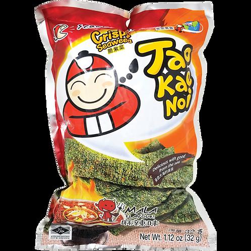 TKN Crispy Seaweed (Mala)-1.27oz【6bag】