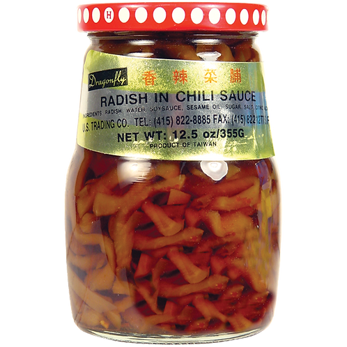 Chili Radish In Soy Sauce  13oz