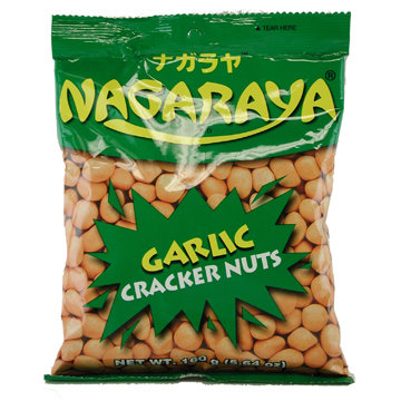Nagaraya Cracker Nut Garlic-5.64oz【3bag】