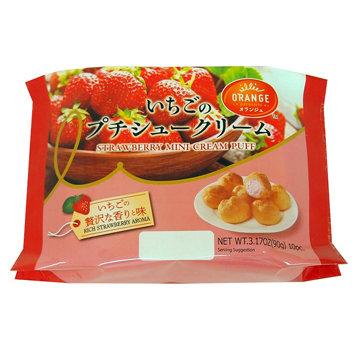 Strawberry Mini Cream Puff   3.17oz