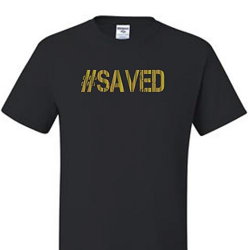 Black/Gold (Saved/ Walking in My Purpose)