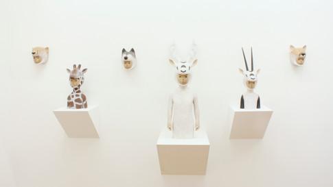 """installation view """"opposite"""" 2012"""