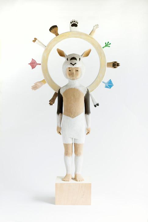 Spectrum - Arabin Oryx - 139.5×56×26.5cm | 2017|