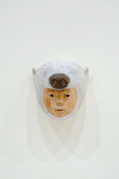 オーロラとホッキョクグマの間 15×15×15cm 2009