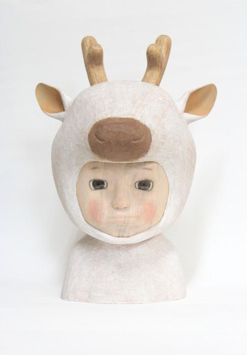 Reindeer|38×27×26cm|Camphorwood| 2019