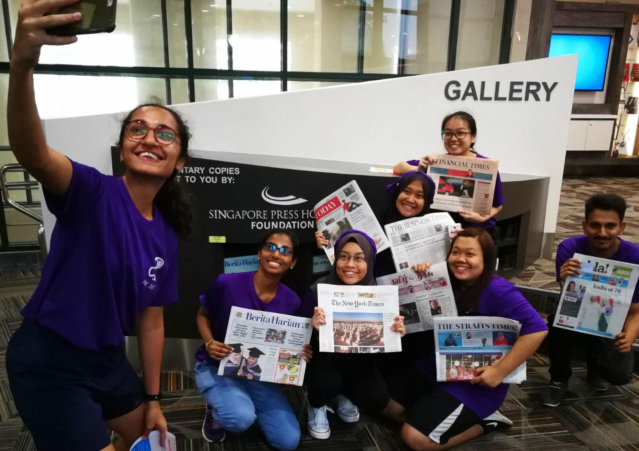 Newspaper Corner