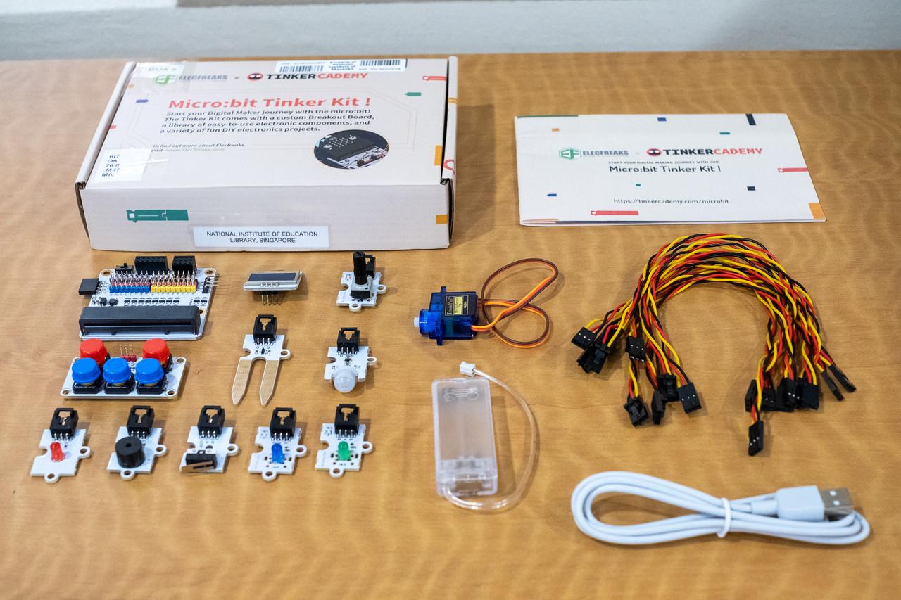 Tinkeracademy's Micro:bit Tinker Kit