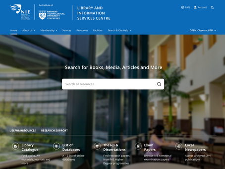 In with the New: Library Portal Refresh