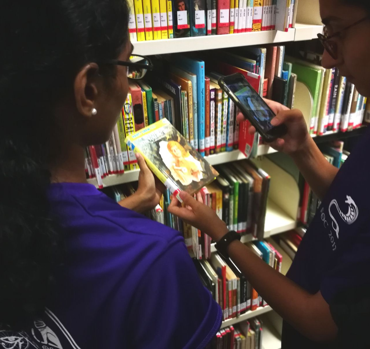 Looking for books in Reserves