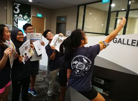 Freshman Orientation Programme - Library Challenge