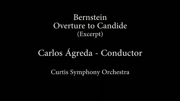 Carlos Agreda conducts Candide Overture by Bernstein