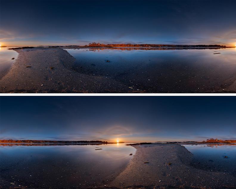 Johnson Cove Sunrise Surrounded 20200421