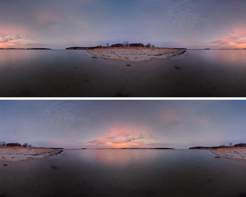 Sandy Point Sunrise Surrounded 20201212