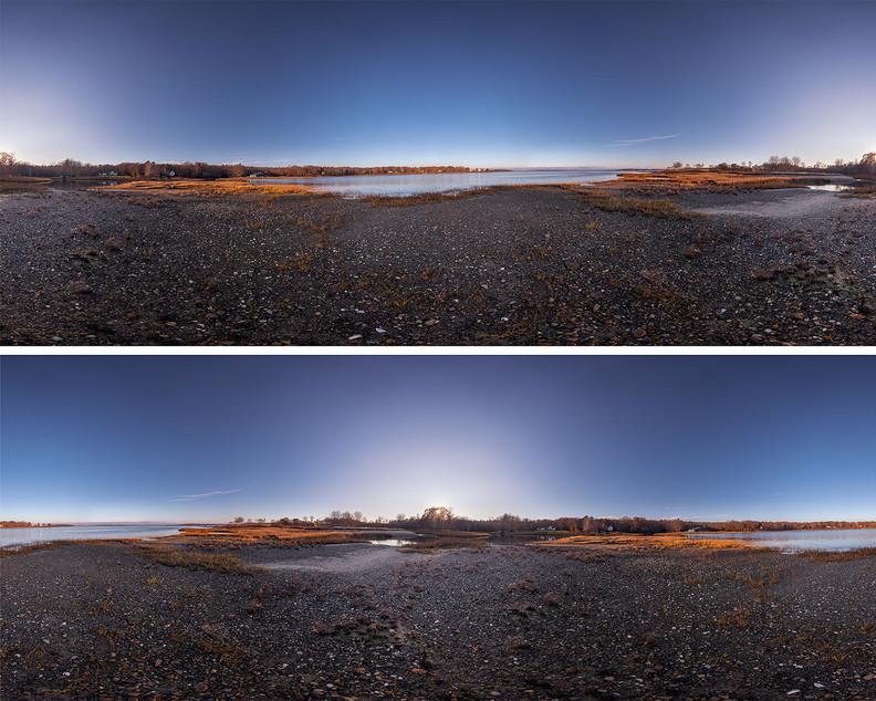 Johnson Cove Autumn Sunset Surrounded 20201109