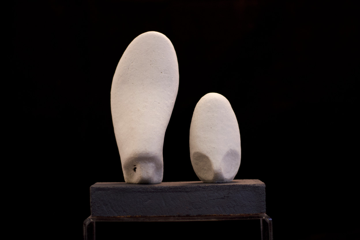 Sculpture – related forms, white 2020 by Peter Smith