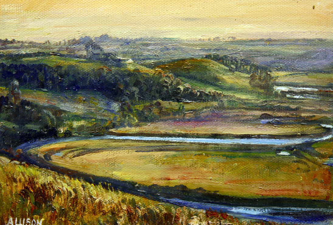 The River Aln, Alnmouth by Jane Allison