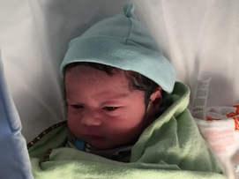 Baby E. May 8, 2015