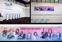 Women's History Month Display