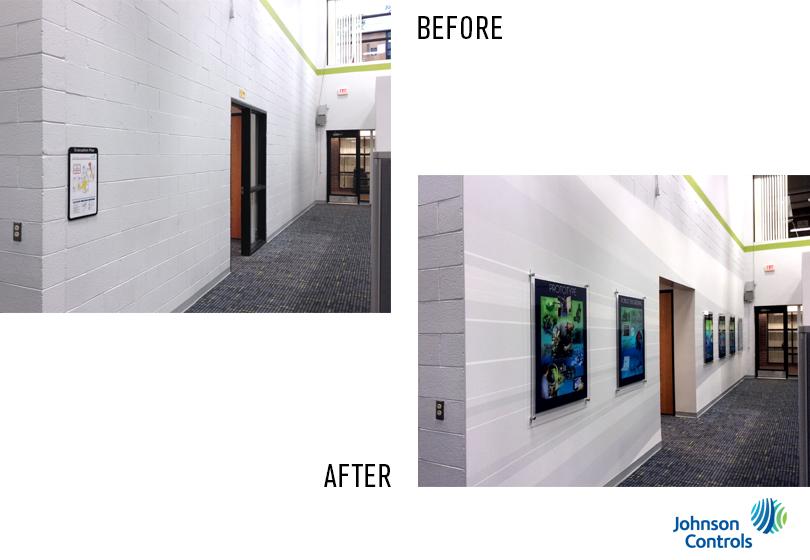 Wall Mural Johnson Controls