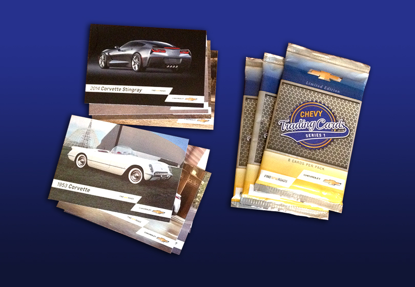 Auto Show Trading Cards