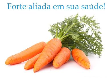 Cenoura: Uma forte aliada a sua saúde!