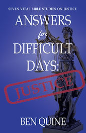 Answers for Difficult Days Justice Cover