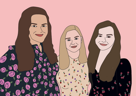 Friends Illustration with colour