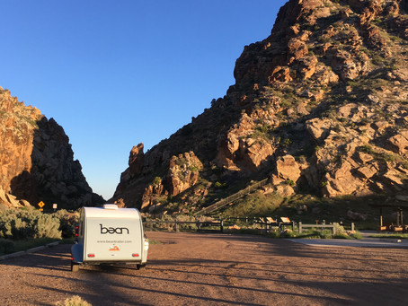 Own Your Weekend with a Teardrop Trailer Like Bean.