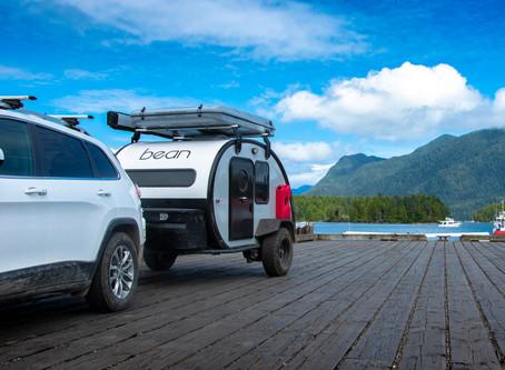 Utah's Lightweight Teardrop Trailer is Built like a Boat!