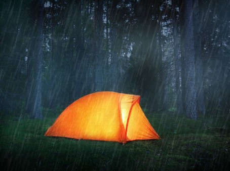 Tips for Camping in the Rain
