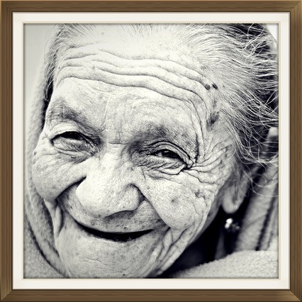 old woman, ageing face, suffering, Buddhism, Buddhist