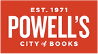 Powell's City of Books Logo.  The world's largest new and used bookstore.
