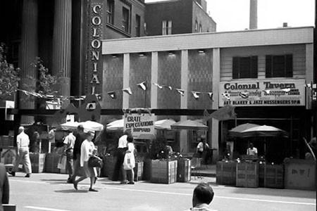 Colonial Tavern, Toronto, 1971