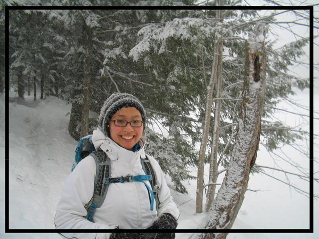 Margaret at Pretty River Provincial Park