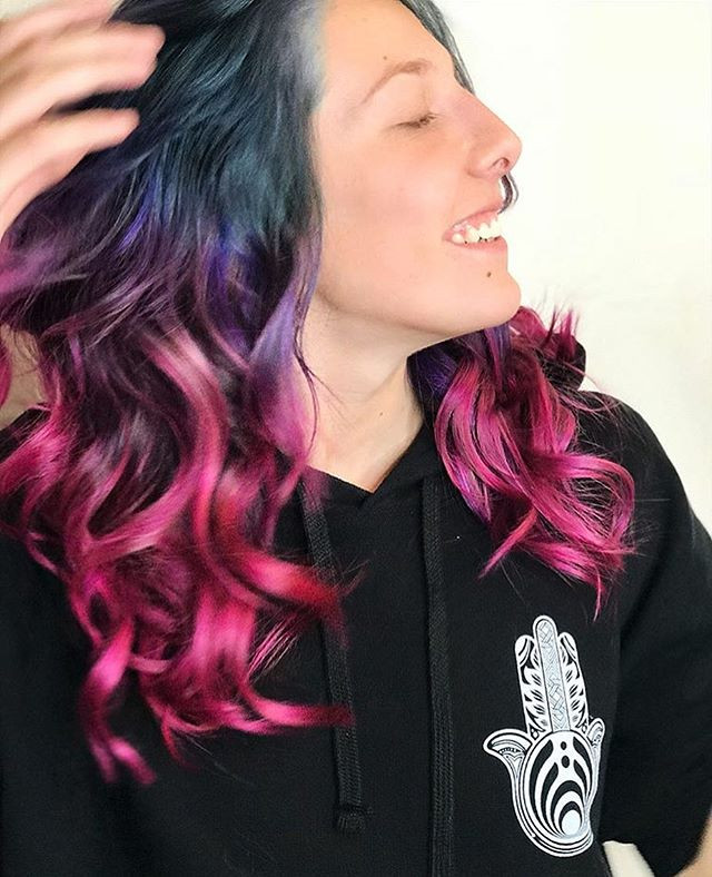 Would you try this hair color_ You'd pro