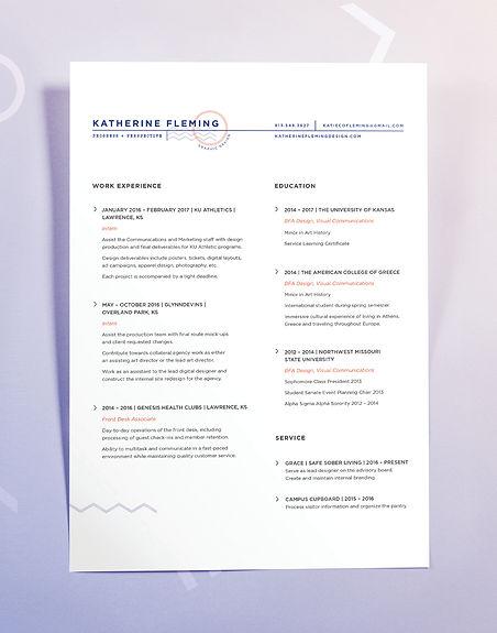Fleming Resume