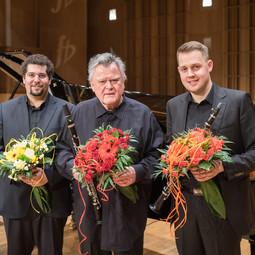 With Karl Leister and Kryzstof Grzybowski