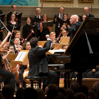 With Maestro Eschenbach